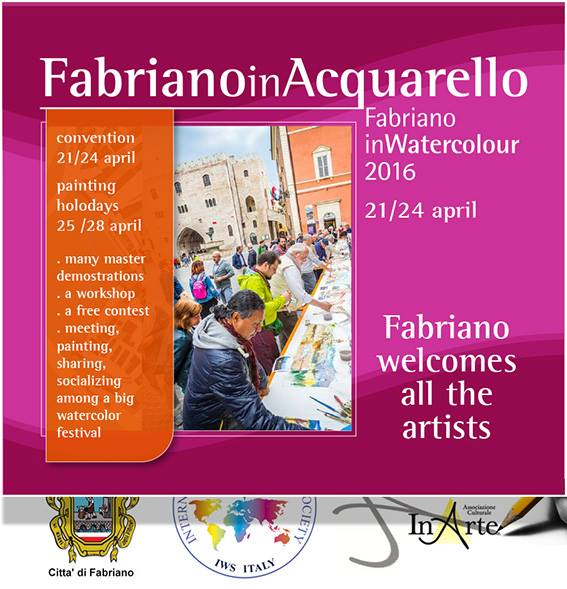 International watercolour biennial Fabriano- Italy 2016
