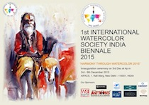 International watercolour biennial India 2016