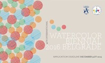 International watercolour biennial Belgrade- Serbia 2016